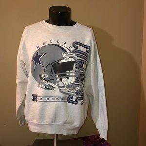 Vintage Dallas Cowboys NFC sweatshirt. Size XL